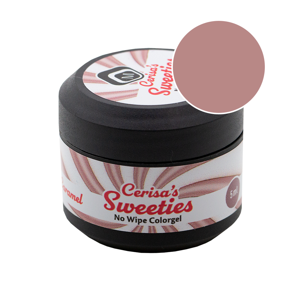 Cerisa Sweeities No Wipe Color Gel Caramel