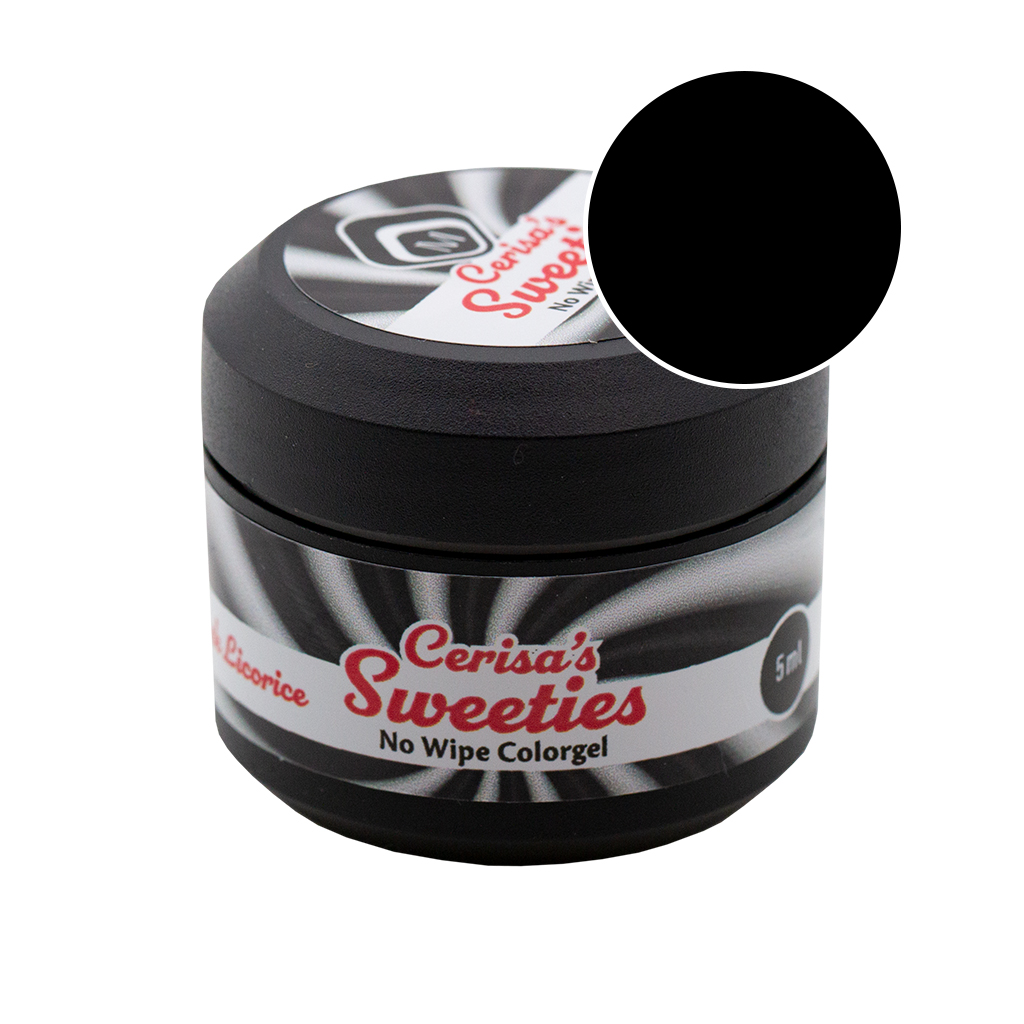 Cerisa Sweeties No Wipe Color Gel Black Licorice