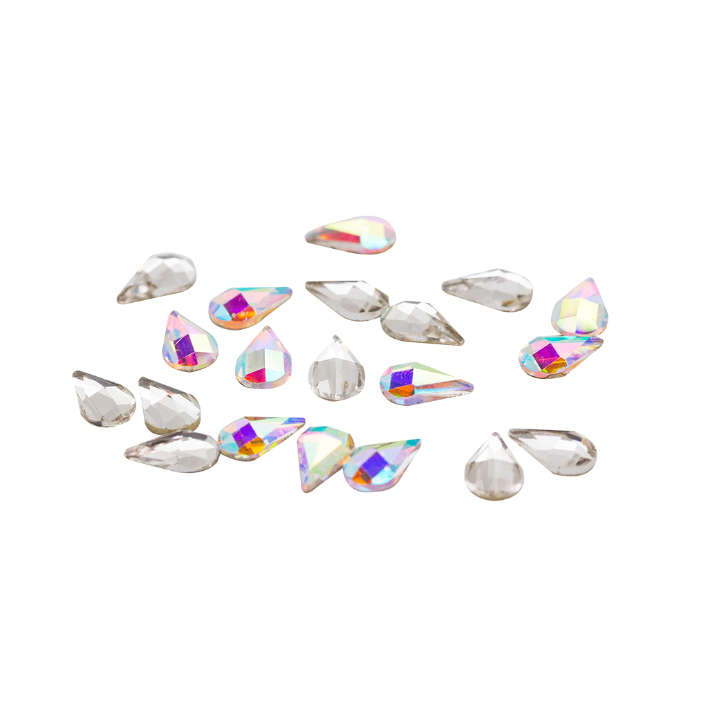 Awesome Crystals Teardrop 20 pcs