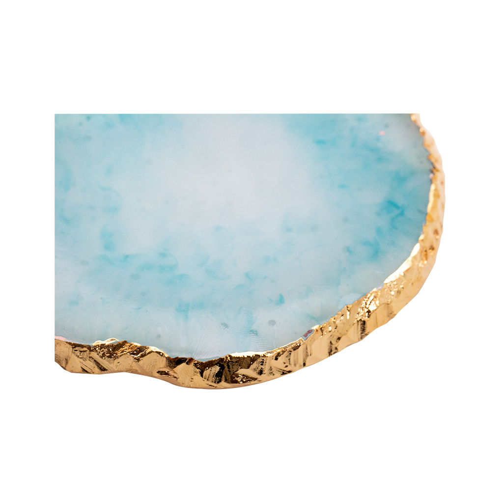 Display Agate Geode Turquoise