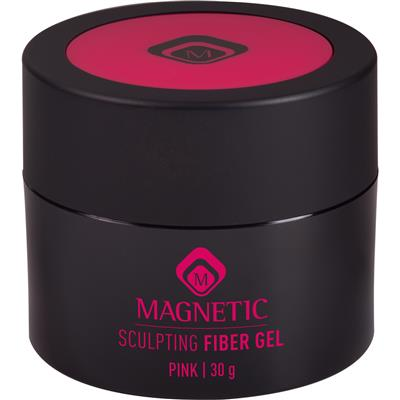 Magnetic Sculpting Fiber Gel Pink 30g