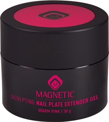 Magnetic Sculpting Nail Plate Extender Warm Pink 30 gr
