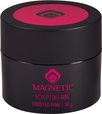 Magnetic Sculpting Gel Frosted Pink 30 gr