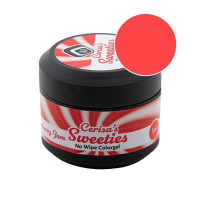 Cerisa Sweeties No Wipe Color Gel Strawberry Jam