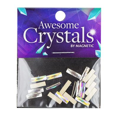 Awesome Crystals Rectangle 20 pcs