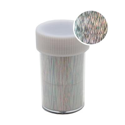 Transfer Foil Roll Holographic Silver Stripes