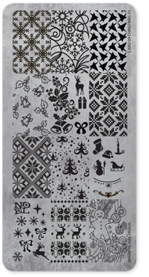 Stamping Plate 09 Christmas