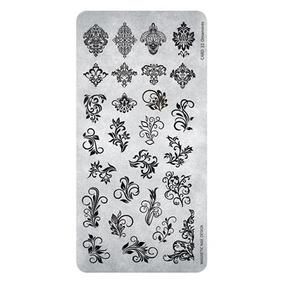 Stamping Plate 32 Ornaments
