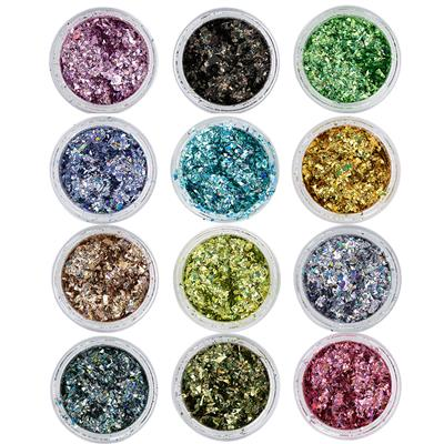 Crushed Glitter 12 colors
