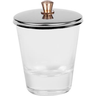 Liquid Glas with Stainless Steel Lid
