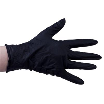 Nitril Gloves 100pcs Black M pd.fr.