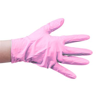 Nitril Gloves 100pcs Pink S pd.fr.