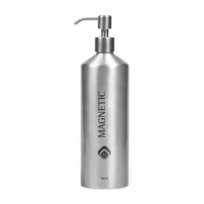 Aluminium Silver Bottle 1000 ml Magnetic